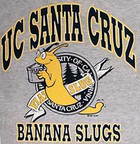 Banana slug tee-shirt