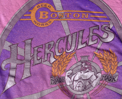 Hercules Strong Ale shirt detail